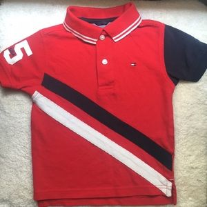 Toddler Tommy Hilfiger polo shirt